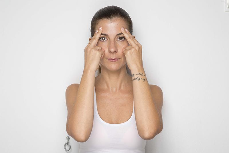 αρετή ασκήσεις faceyoga δακτυλοπίεση