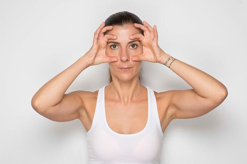 areti face yoga ματια